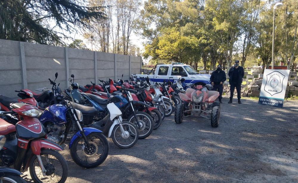 Secuestro de motos